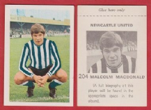 Newcastle United Malcolm Macdonald England